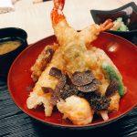 [北新地ランチ]トリュフ天丼を食べに「なにわ天ぷら 維心」へ