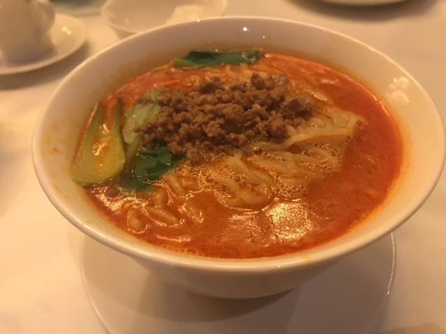 四川飯店 坦々麺